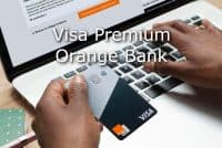 visa premium orange bank