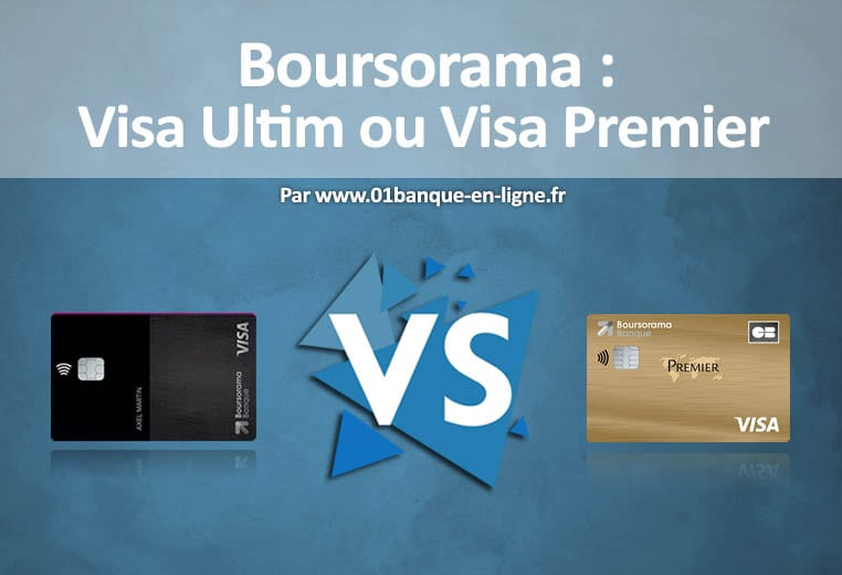 Visa ultim et premier de Boursorama