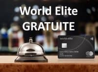 Mastercard World Elite gratuite