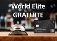 Mastercard World Elite gratuite